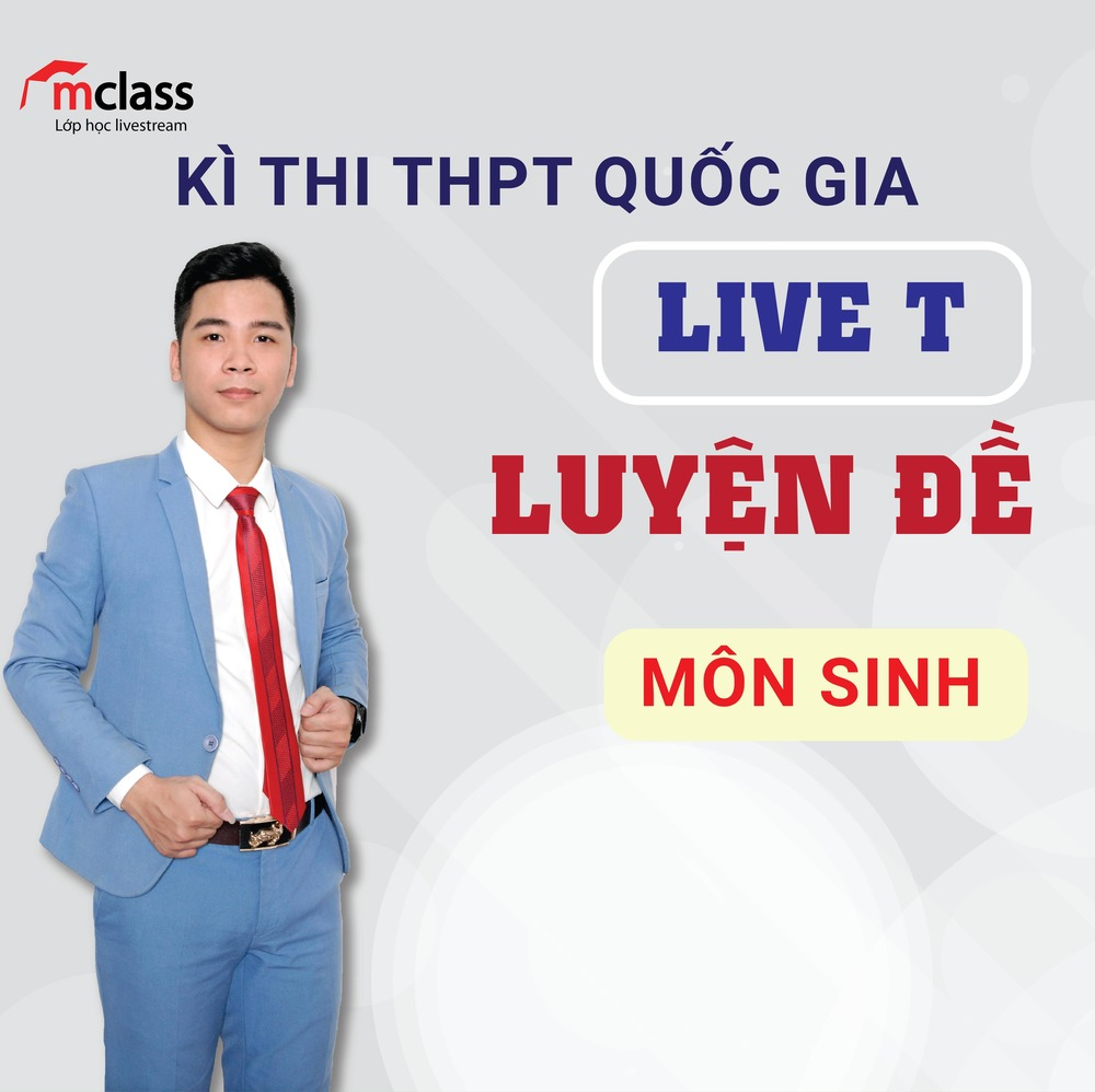 LIVE T - Luyện Đề - Sinh