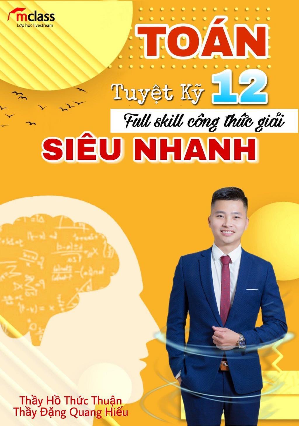 Công thức giải nhanh Toán thầy Thuận